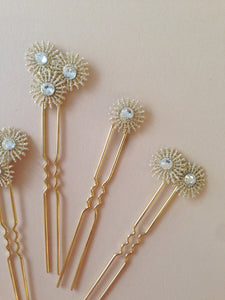 Celine Hair Pins-Hair Adornments-Hushed Commotion