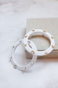 "White Bangle ""Kendall"" [NEW 2021]"