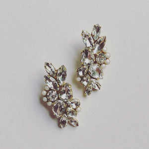 """Elizabeth Taylor"" Earrings"