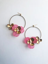 "Load image into Gallery viewer, ""Tami"" Hoop Earrings // Pink-honeymoon-collection-Hushed Commotion"