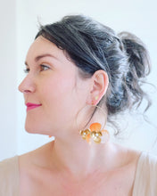 "Load image into Gallery viewer, ""Tami"" Hoop Earrings // Orange Ombre-honeymoon-collection-Hushed Commotion"