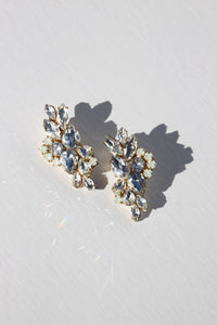 """Elizabeth Taylor"" Earrings-earrings-Hushed Commotion"