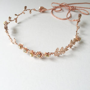 Sydney (rose gold)-Hair Adornments-Hushed Commotion