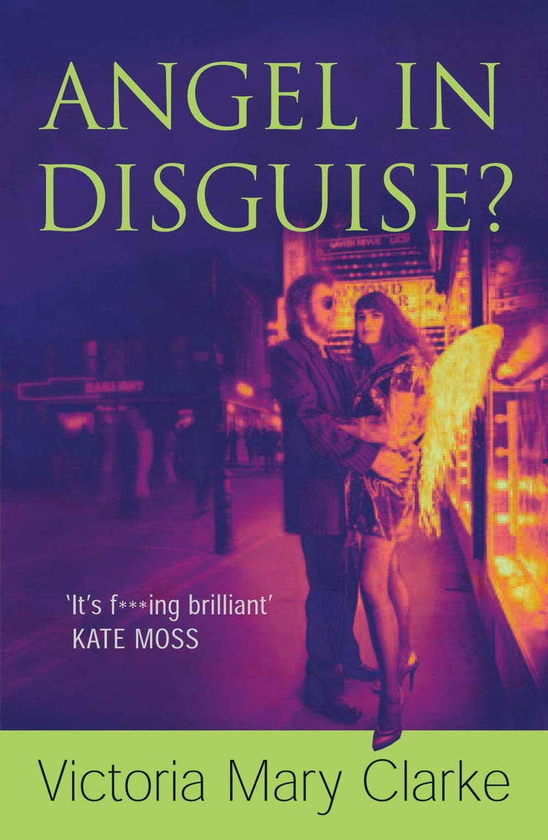 Angel In Disguise book signed by Victoria