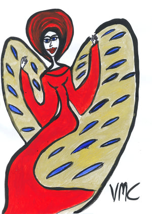 Angel no. 6 Print