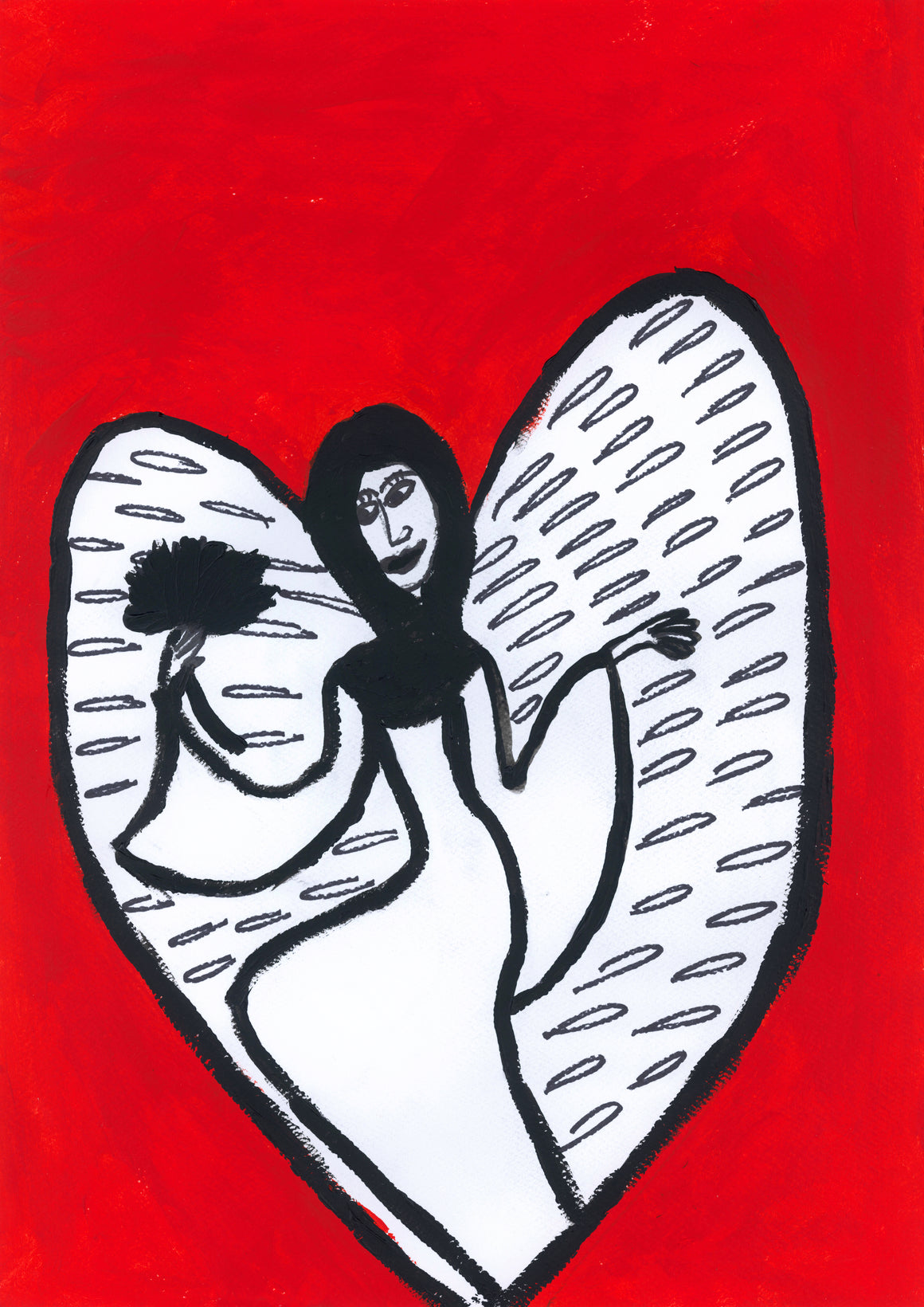 Gaelitrea Angel Acrylic on canvas copy