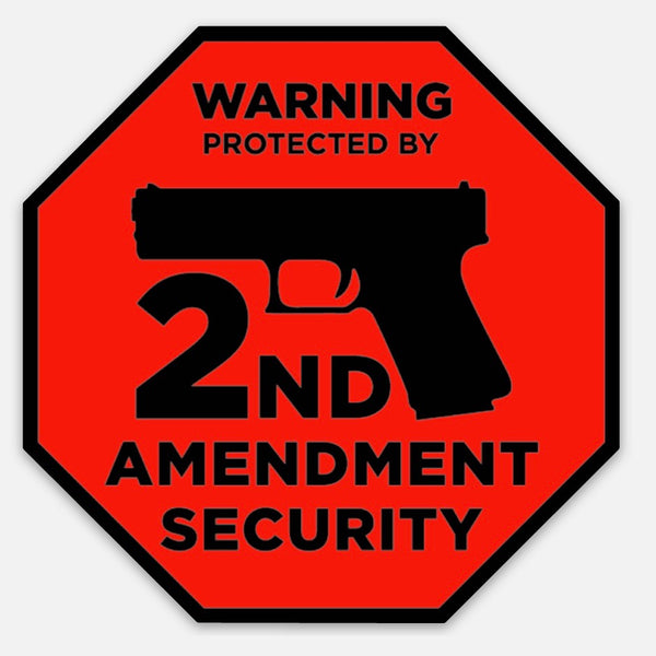 2A Security Sticker - RED
