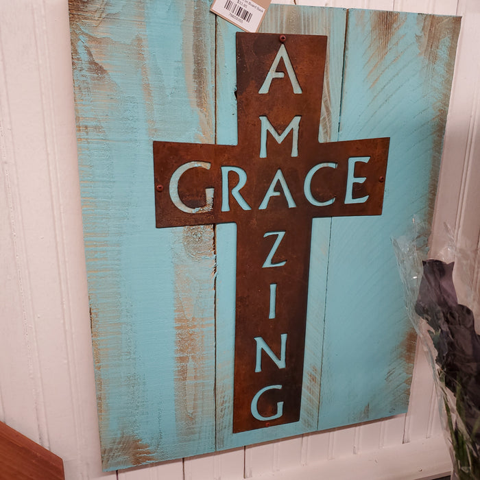 Amazing Grace on Board Back