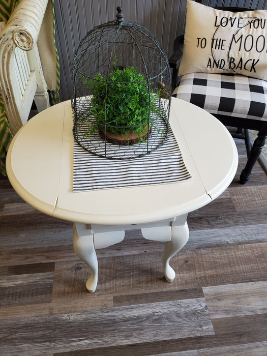 End Table with Drop Leaf Sides