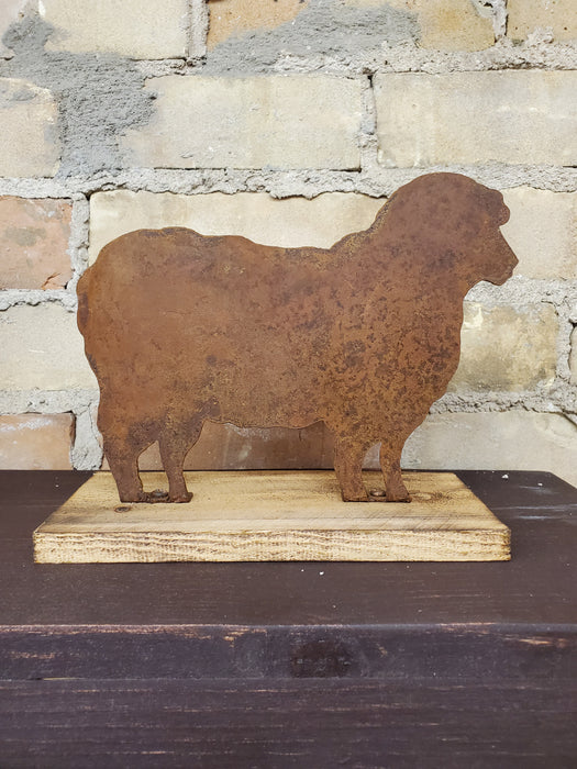 Rusted Metal Sheep