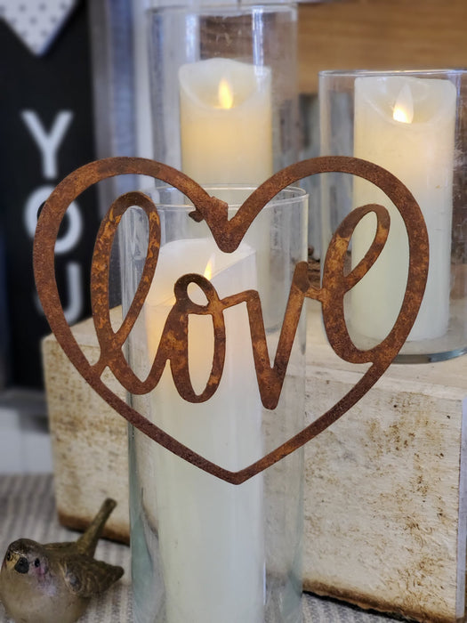 Votive Hanger - Love Heart