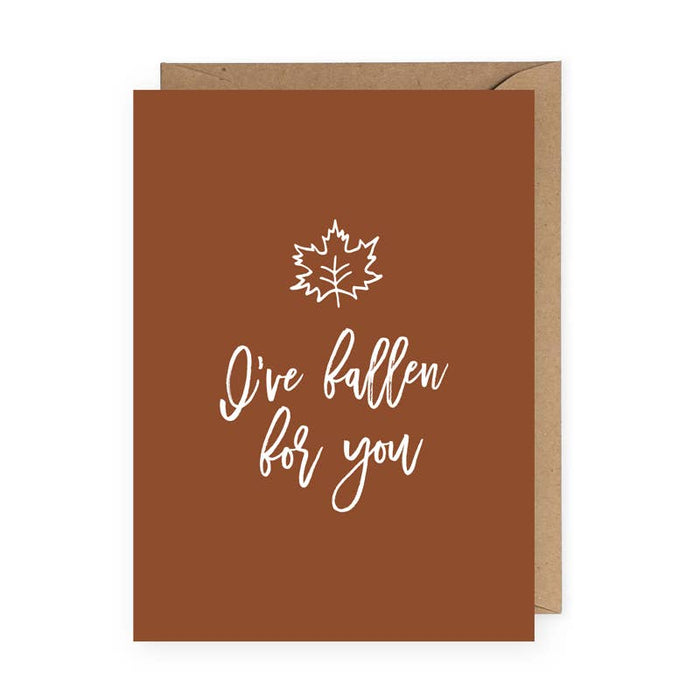 Fallen For You Card