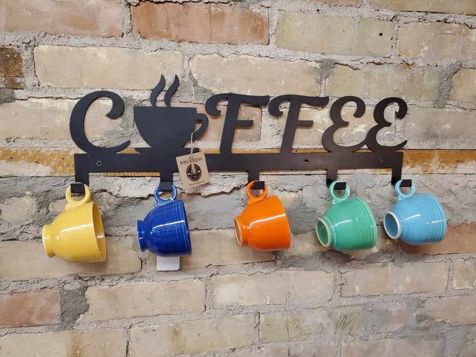 Coffee Cup Wall Holder