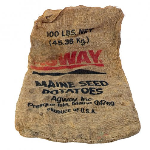 Feed Sacks w/Writing