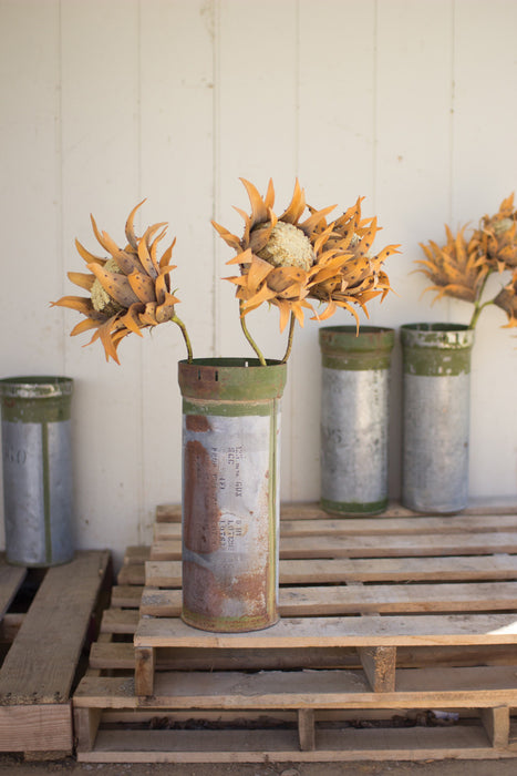Reclaimed Military Canister