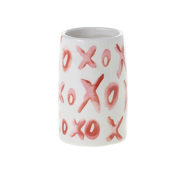 XO Hugs & Kisses Vase