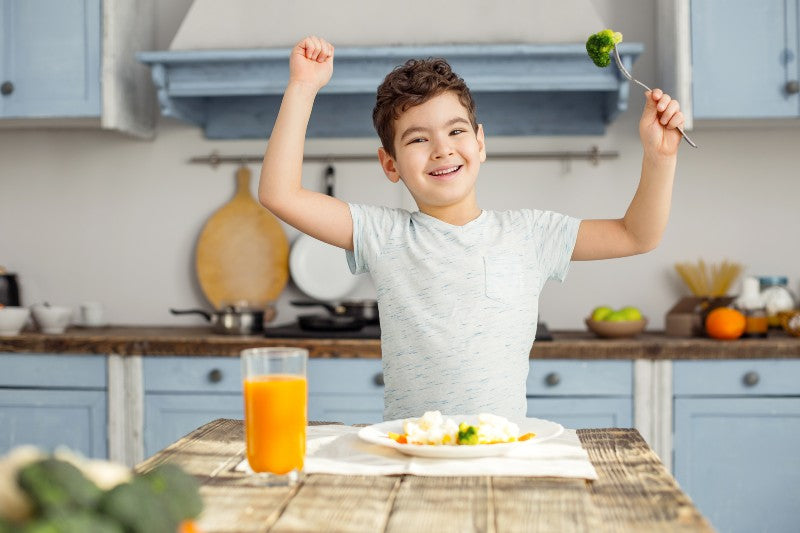 4 Tips: How to Encourage Healthy Eating Habits for Kids