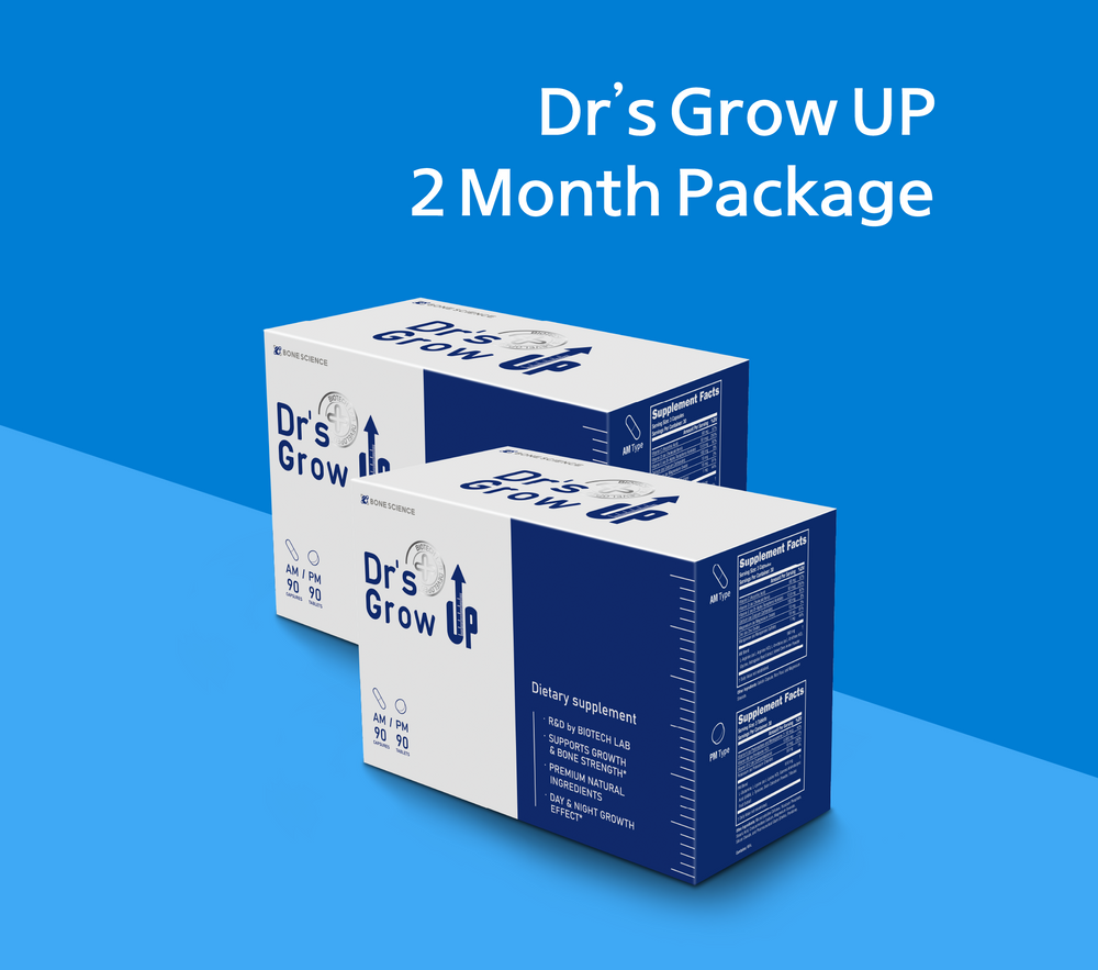 Dr's Grow UP AM/PM 2 Month Supply - Bone Science