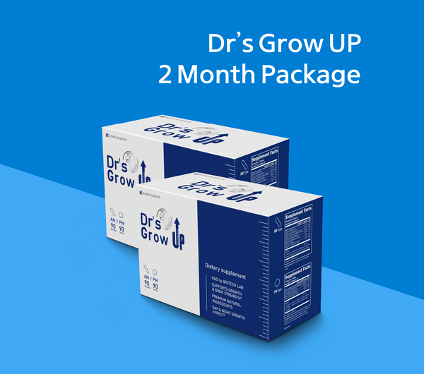 Dr's Grow UP AM/PM 2 Month Supply
