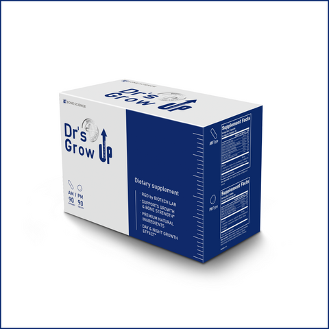 Dr's Grow UP AM/PM 12 Months Supply