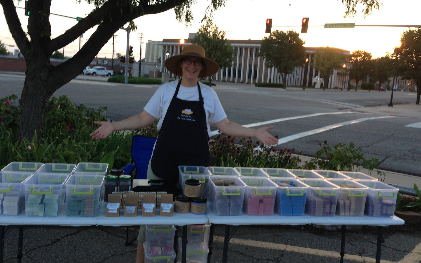 June Jaunt and the Farmers Market | Artisan Soaps