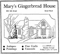 Mary's Gingerbread House