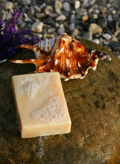 Handcrafted soaps are made with wholesome natural ingredients.