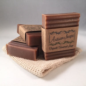 Chipotle Caramel Soap Bar - Artisan Soaps  - 1