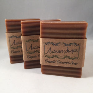 Chipotle Caramel Soap Bar - Artisan Soaps  - 3