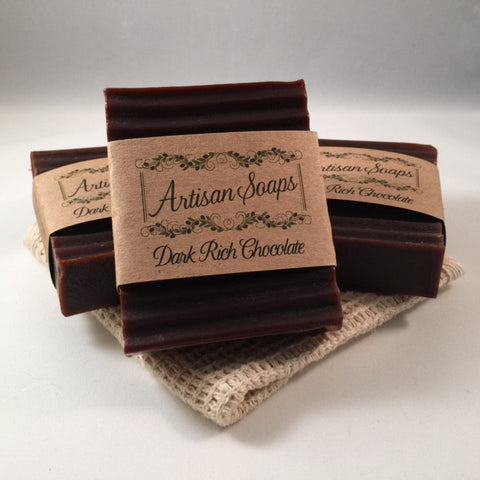 Dark Rich Chocolate Soap