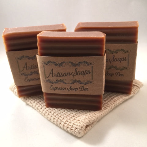 Espresso Soap Bar