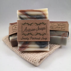 Smoky Patchouli Soap Bar - Artisan Soaps  - 1