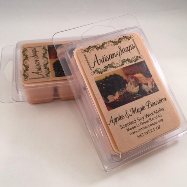 Apples and Maple Bourbon Soy Wax Melt - Artisan Soaps