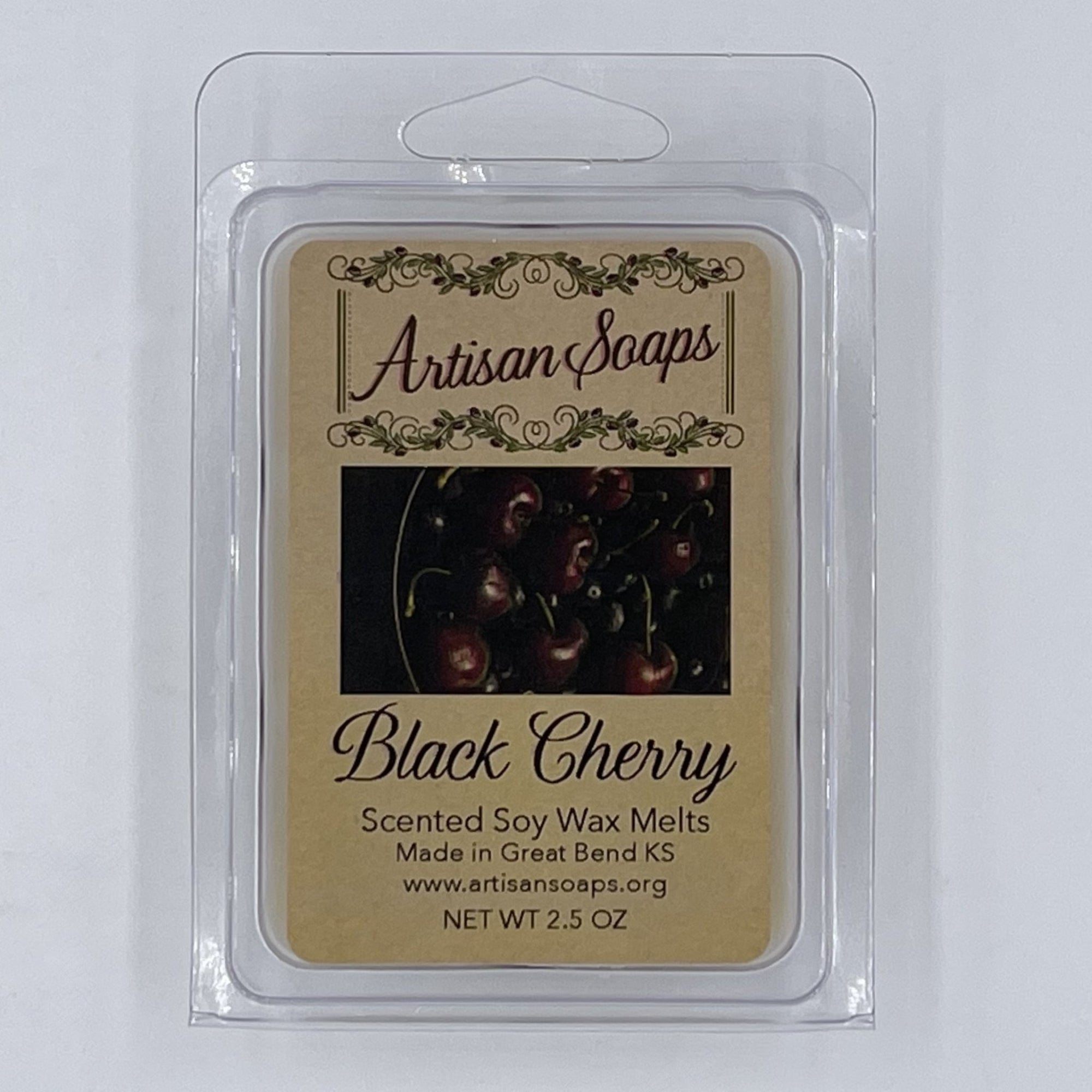 Black Cherry Soy Wax Melts - Artisan Soaps