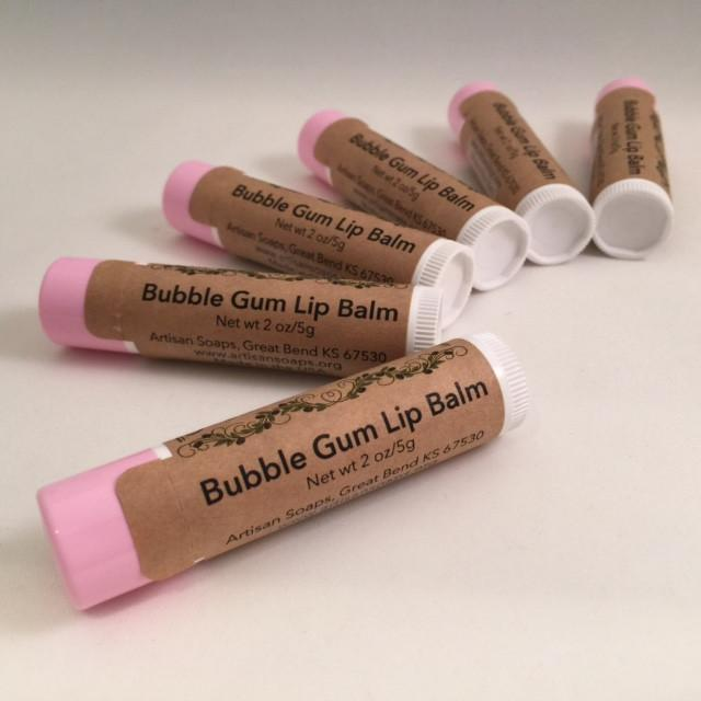 Bubble Gum Lip Balm - Artisan Soaps