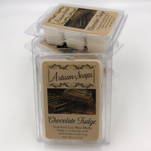 Chocolate Fudge Soy Wax Melt - Artisan Soaps