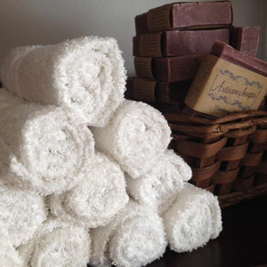 Cotton Wash Cloth - Artisan Soaps