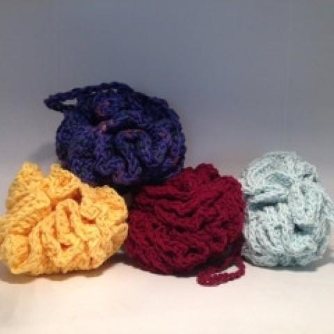Crocheted Bath Puff - Artisan Soaps
