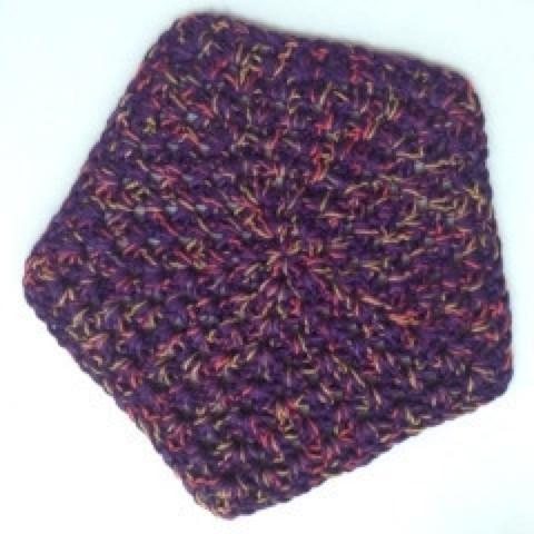 Crocheted Star Washcloth - Artisan Soaps