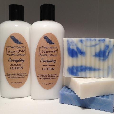 Everyday Unscented Lotion - Artisan Soaps