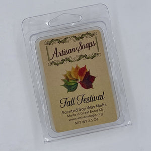 Fall Festival Soy Wax Melts - Artisan Soaps