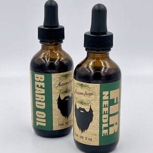 Fir Needle Beard Oil - Artisan Soaps