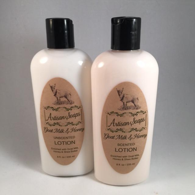 Goat Milk & Honey Lotion - Artisan Soaps