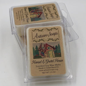 Hansel and Gretel House Soy Wax Melts - Artisan Soaps