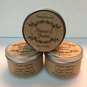 Hansel and Gretels Candle - Artisan Soaps