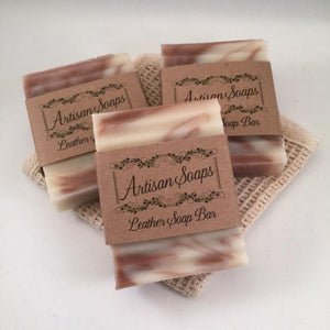 Leather Soap Bar - Artisan Soaps