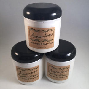Luxury Hand and Body Cream - Artisan Soaps