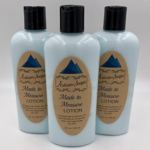 Made to Measure Lotion - Artisan Soaps
