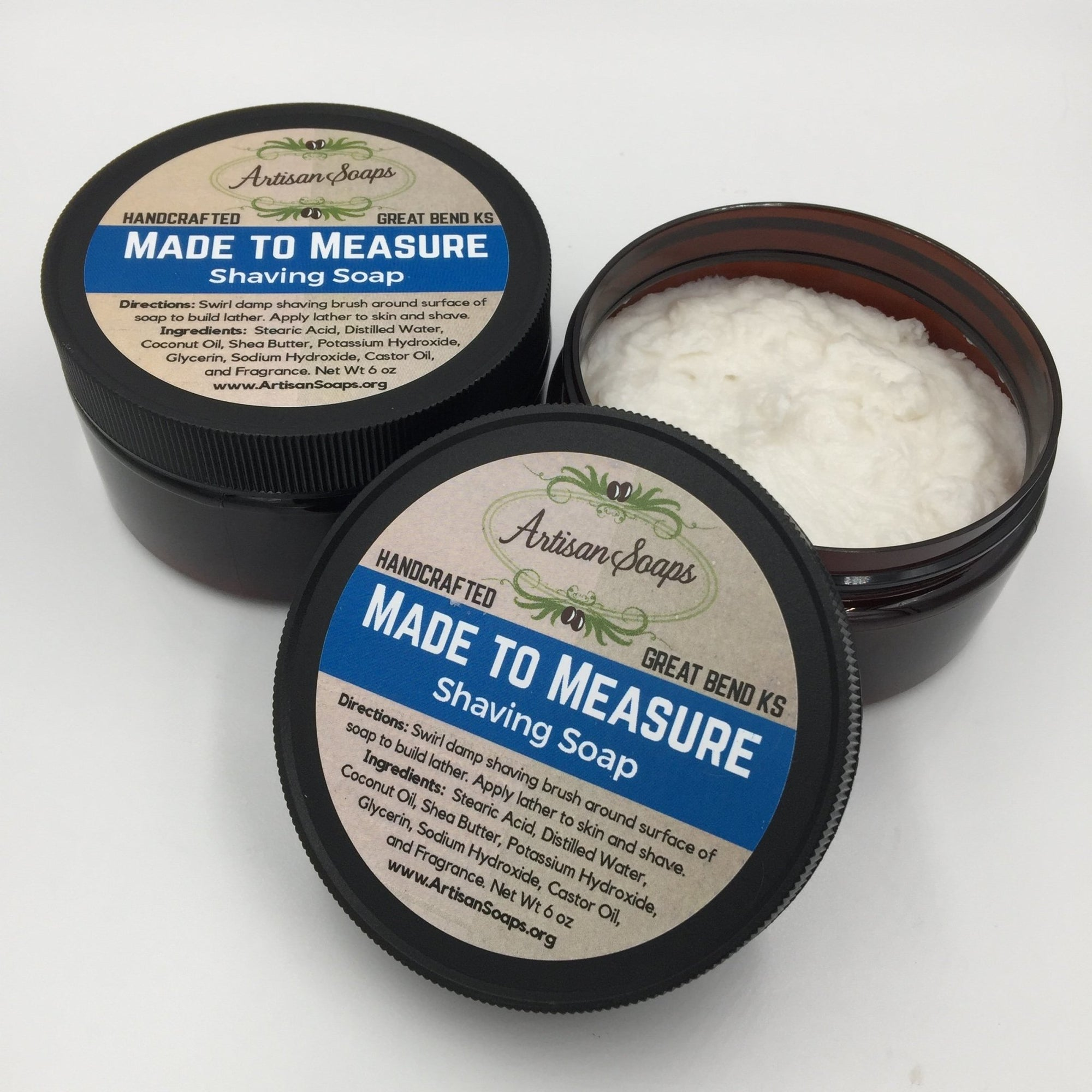 Made to Measure Shaving Soap - Artisan Soaps