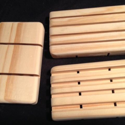 Pine Wood Soap Dishes - Artisan Soaps